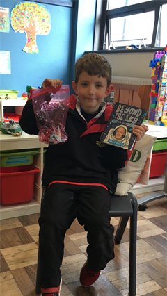 Show and Tell Day in Senior Infants