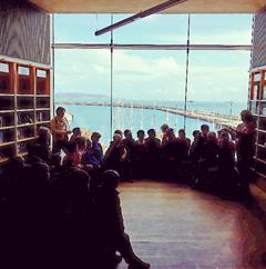 Garda and Library Visit