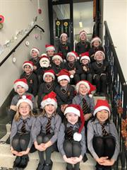 Lots of festive spirit in 1st & 2nd Class