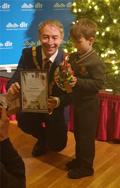 Robert receives a Special Merit award