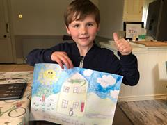 Senior Infants Work From Home