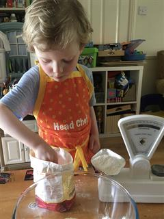 Junior Infants cooking and baking