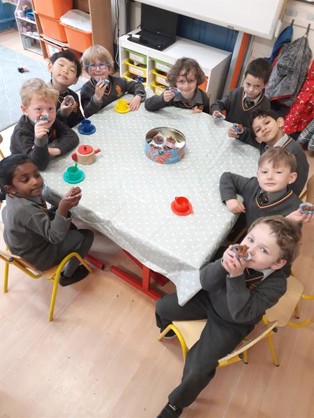 The Great Irish Bake and more fun adventures in Junior Infants